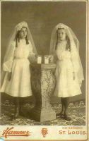 1st Communion Effie &Annette Peters