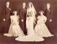 Wedding of Delores Gerlach and Joe Lesneski