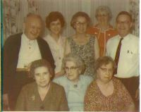 Walt, Helen, Hazel, friend Clara Wills, Arthur